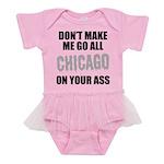 Chicago Baseball Baby Tutu Bodysuit