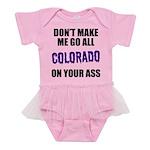 Colorado Baseball Baby Tutu Bodysuit