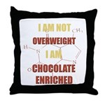 Chocolate Enriched Throw Pillow