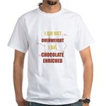 Chocolate Enriched White T-Shirt
