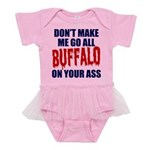 Buffalo Football Baby Tutu Bodysuit