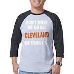 Cleveland Football Mens Baseball Tee