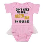 Green Bay Football Baby Tutu Bodysuit