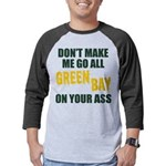 Green Bay Football Mens Baseball Tee