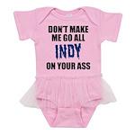 Indianapolis Football Baby Tutu Bodysuit