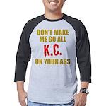 Kansas City Football Mens Baseball Tee