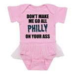Philadelphia Football Baby Tutu Bodysuit