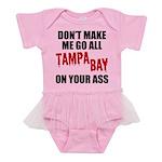 Tampa Bay Football Baby Tutu Bodysuit