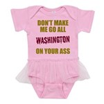 Washington Football Baby Tutu Bodysuit