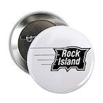 Rock Island Railroad Button