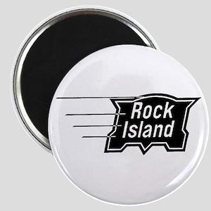 Rock Island Railroad Magnet