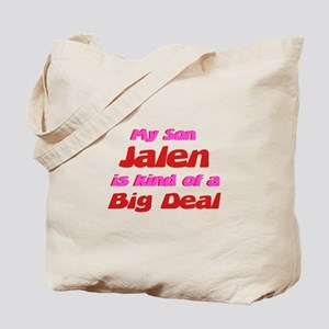 My Son Jalen - Big Deal Tote Bag