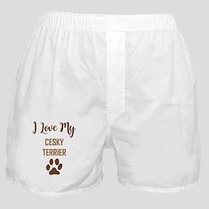 I LOVE MY DOG! Boxer Shorts