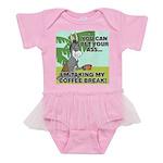 FIN-ass-coffee-break Baby Tutu Bodysuit