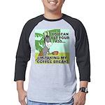 FIN-ass-coffee-break Mens Baseball Tee