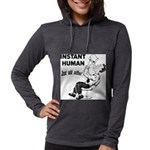 Instant Human Womens Hooded Shirt