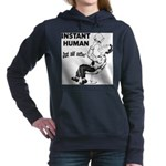 Instant Human Women's Hooded Sweatshirt