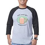 FIN-work-cappuccino Mens Baseball Tee