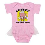 FIN-coffee-quota Baby Tutu Bodysuit