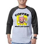 FIN-coffee-quota Mens Baseball Tee