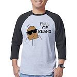 FIN-full-of-beans Mens Baseball Tee