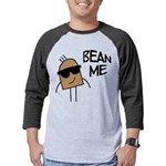 FIN-bean-me Mens Baseball Tee