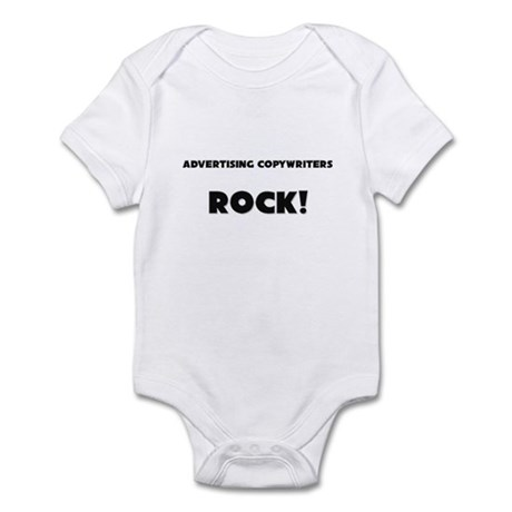 Advertising Copywriters ROCK Infant Bodysuit
