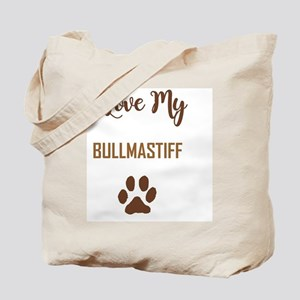 I LOVE MY DOG! Tote Bag