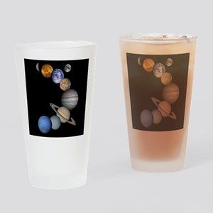 Our Solar System planets Drinking Glass
