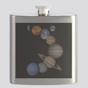 Our Solar System planets Flask