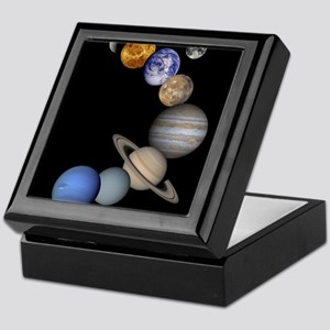 Our Solar System planets Keepsake Box