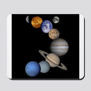 Our Solar System planets Mousepad