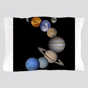 Our Solar System planets Pillow Case