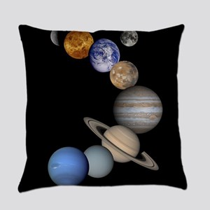 Our Solar System planets Everyday Pillow