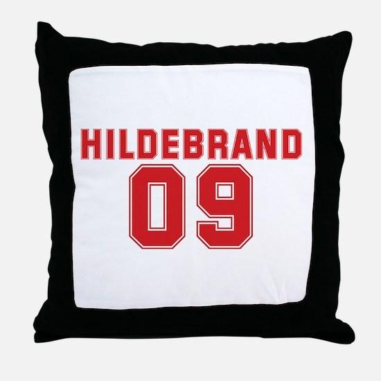 HILDEBRAND 09 Throw Pillow