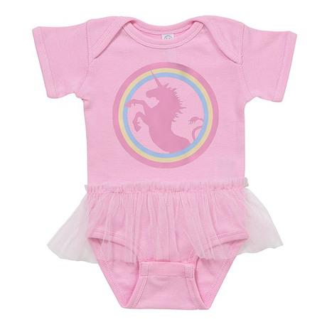 Pink Unicorn Baby Tutu Bodysuit