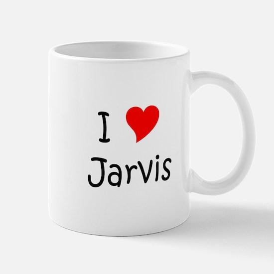 Cute I love jarvis Mug