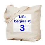 3rd Birthday Tote Bag