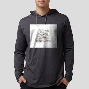wright brothers kitty hawk Long Sleeve T-Shirt