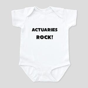 Actuaries ROCK Infant Bodysuit