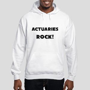 Actuaries ROCK Hooded Sweatshirt