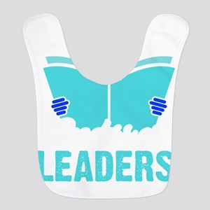 Readers are leaders Polyester Baby Bib