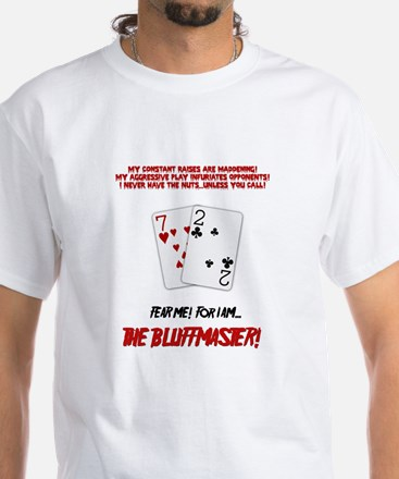 The Bluffmaster White T-Shirt