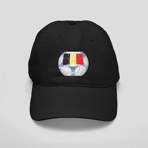 Belgium Championship Soccer Black Cap