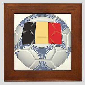 Belgium Championship Soccer Framed Tile