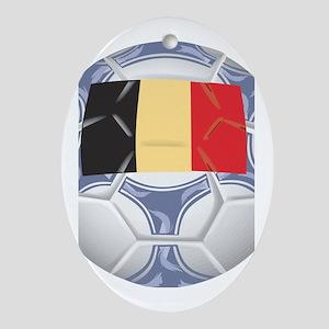 Belgium Championship Soccer Keepsake (Oval)