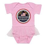 Marine Corps Mom Baby Tutu Bodysuit