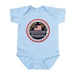Marine Corps Mom Baby Light Bodysuit