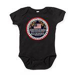 Marine Corps Mom Baby Bodysuit