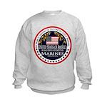Marine Corps Mom Kids Sweatshirt